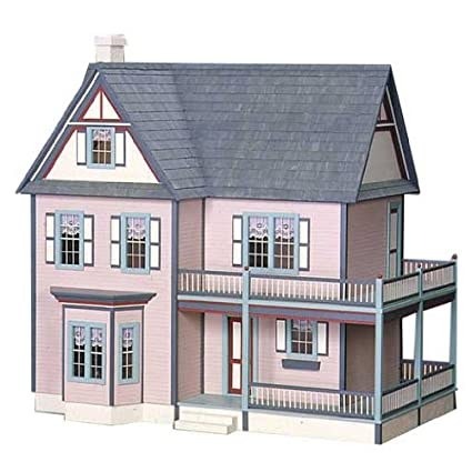 Amazon Com Dollhouse Miniature Victoria S Farmhouse By Rgt Toys
