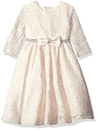 Rare Editions Girls' Toddler' H377555, Ivory, 6 ()