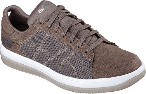Skechers Uomo sul GO Revolve Sneaker, Khaki