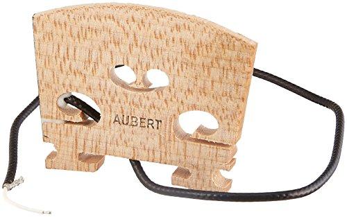 Mounted Transducer - Barcus Berry 1320B Electric Violin Bridge with Internally Mounted Piezo Crystal Transducer