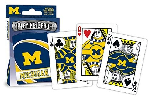 Playing Cards Ncaa - MasterPieces NCAA Michigan Playing Cards