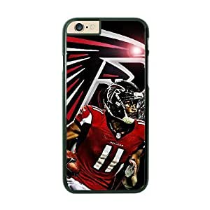 NFL Case Cover For Apple Iphone 6 Plus 5.5 Inch Black Cell Phone Case Atlanta Falcons QNXTWKHE1865 NFL Personalized Fashion Phone s