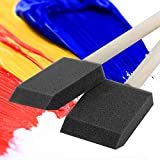 Bates- Foam Paint Brushes, 16pcs, 2 Inch, Sponge