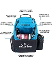 Dynamic Discs Trooper Disc Golf Backpack   Frisbee Disc Golf Bag with 18+ Disc Capacity   Introductory Disc Golf Backpack   Lightweight and Durable