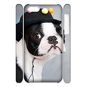 EZCASE Cute Dog Phone Case For Iphone 5C [Pattern-1]
