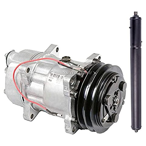 Genuine OEM New AC Compressor & Clutch With A/C Drier For Jaguar XJ6 XJ12 & XJR - BuyAutoParts 60-87601R4 - Jaguar Xj12 A/c Compressor