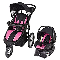 Baby Trend Cityscape Jogger Travel System, Rose