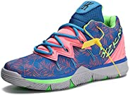 Men's Basketball Shoes Fashion Sneakers for Teen Boys High Upper Sport Shoes Outdoor Indoor Anti