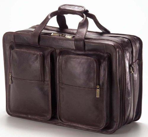 Clava Tuscan Leather Companion Flight Bag - Tuscan Cafe