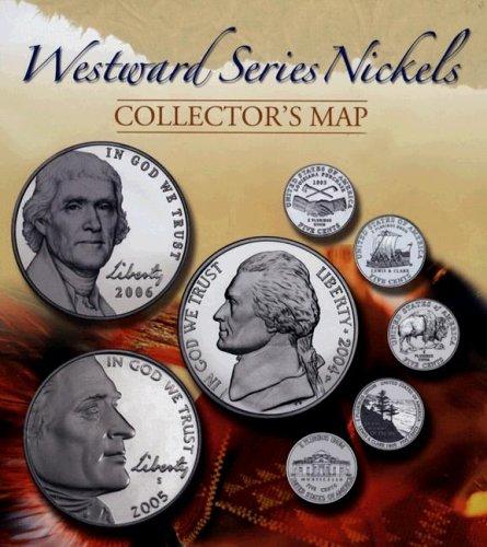 Westward Series Nickels: Collector's Map