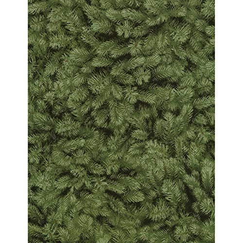 - Timeless Treasures Fabrics A Very Merry Christmas Green Packed Pine Needles