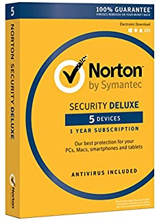 Norton Security Deluxe - 5 Device [Key Card] - 2019 Ready (B016WRSVV4) | Amazon Products