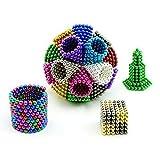 Magnetic Cube 216pcs 3mm Magnets Blocks Magnetic