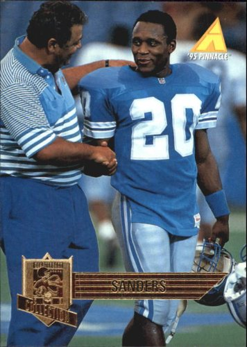 - 1995 Pinnacle Club Collection Football Card #212 Barry Sanders