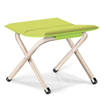 Fine Drspsb Folding Camping Stool Portable Lightweight Mini Fold Chair Aluminum Alloy Fishing Square Stool For Fishing Hiking Gardening Traveling And Ocoug Best Dining Table And Chair Ideas Images Ocougorg
