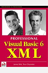 Professional Visual Basic 6 XML Paperback
