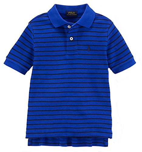 Shirt Lauren Ralph Rugby Boys (Ralph Lauren Boys Striped Cotton Interlock Polo (3/3T, RUGBY ROYAL MULTI))
