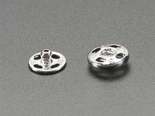 Sew Card (Adafruit Sewable Snaps - 5mm Diameter - Card of 24)