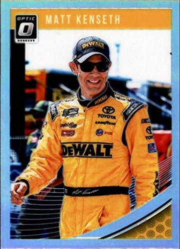 2019 Donruss Racing Optic Holo Parallel #39 Matt Kenseth DeWalt/Joe Gibbs Racing/Toyota Official NASCAR Trading Card by ()