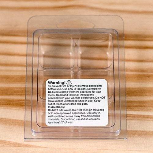 100 Wax Melt Warning Labels