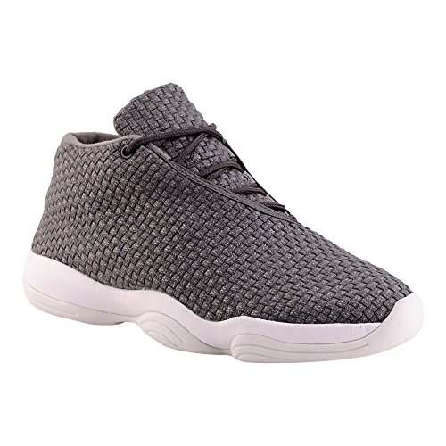 Herren High Top Sneaker Basketball Sport Freizeit Schuhe Grau EU 42