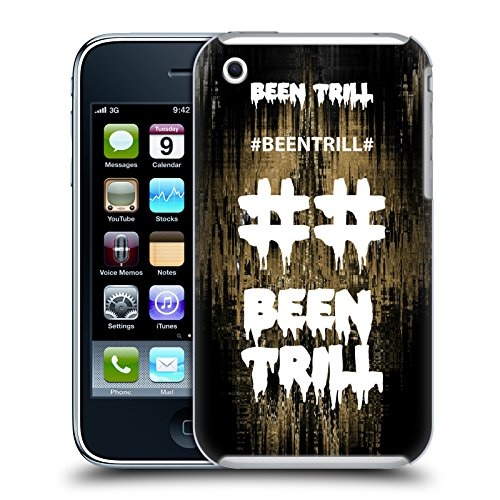 Official Been Trill Fast Lane Glitch Hard Back Case for Apple iPhone 3G / 3GS