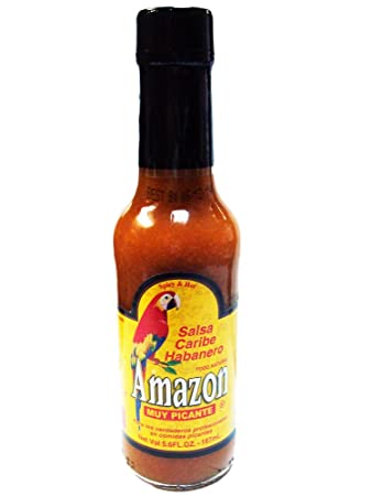 Amazon Caribbean Habanero Hot Sauce