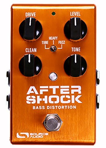 Source Audio Aftershock Bass Distortion Pedal by Source Audio