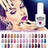 choose Perfect Summer Gel Nail Polish Kit - Choose Any 10 Colours Gel Varnish UV LED Manicure Soak Off Nail Starter Kits 8ML 300 Colours Available