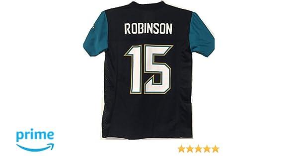 0d76e707 Allen Robinson Jacksonville Jaguars #15 Black Youth Mid Tier Home Jersey