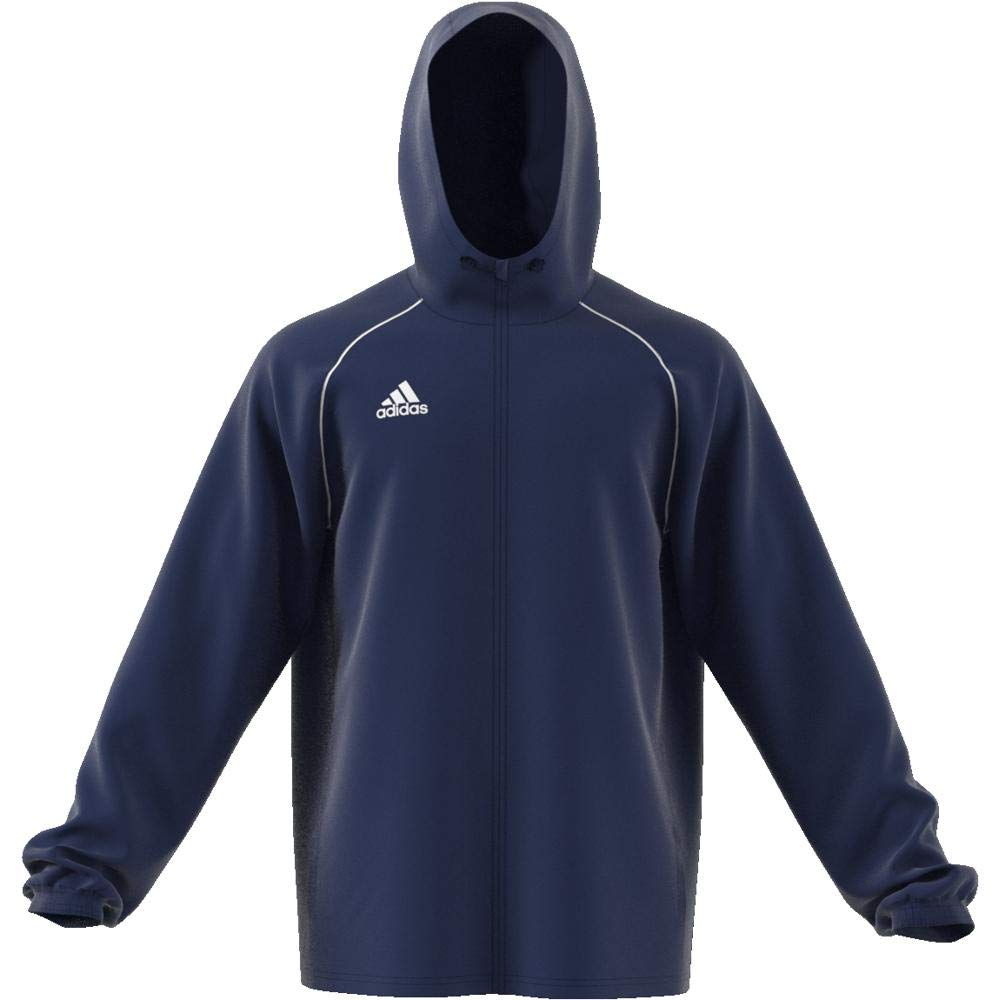 f14ec8e3091 adidas Men s Core 18 Rain Jacket at Amazon Men s Clothing store
