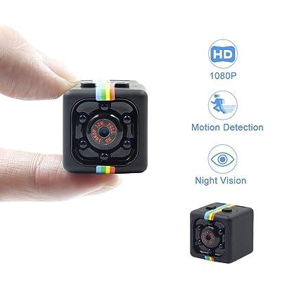 NBZH Cámara Oculta Mini espía cámara HD 1080P niñera CAM con detección de Movimiento Video Noche