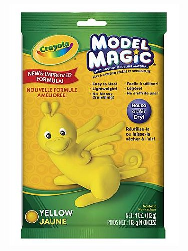 Crayola Model Magic Yellow 4 Oz  Each  Pack Of 4