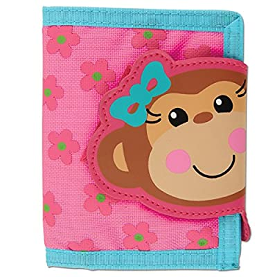 Stephen Joseph Wallet,Girl Monkey by Stephen Joseph Art
