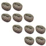 100g Wire Wool Steel Wire Mini Wool Pads For Rust & Fine Sanding (10 Pack) TE359