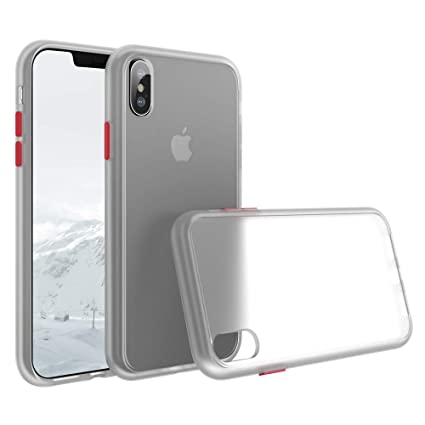 Amazon.com: SURPHY Funda transparente para iPhone XS iPhone ...