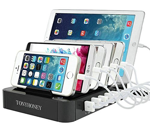 usb multi ladestation mehrere ger te schalter handy tablet iphone ipad sam ebay. Black Bedroom Furniture Sets. Home Design Ideas