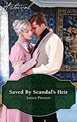 Mills & Boon : Saved By Scandal's Heir (Men About Town)