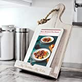 Personalized White Wooden Recipe Stand