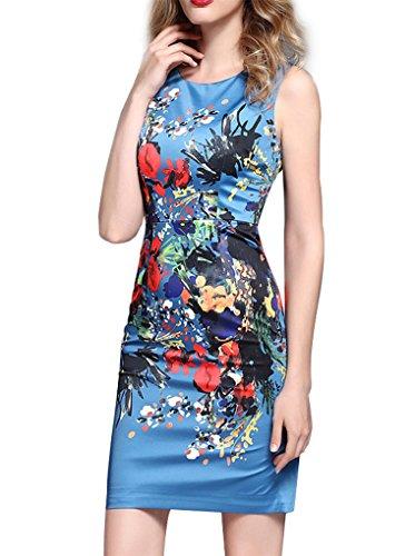 ゲート弱点細断上品 ノースリーブ プリント ワンピース 大きいサイズあり 大人 お呼ばれ 結婚式  二次会 発表会 ドレス ワンピースA0175