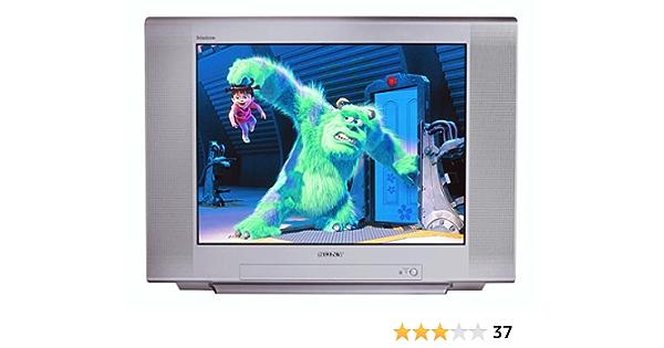 Amazon Com Sony Kv 27fs120 27 Inch Fd Trinitron Wega Flat Screen Tv Electronics