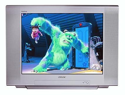 amazon com sony kv 27fs120 27 inch fd trinitron wega flat screen tv rh amazon com Sony Flat Screen TV 27 Sony Television
