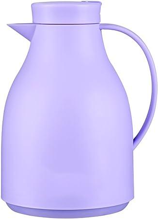 QFFL Frasco de Aislamiento de Gran Capacidad Europeo de la casa/vesícula de Cristal de la vesícula biliar/Botella de Aislamiento antibacteriana/Botella de Agua Caliente Termo (Color : Purple): Amazon.es: Hogar