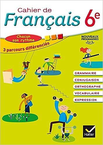 Cahier De Francais 6e Cahier De L Eleve Amazon Ca Lomne