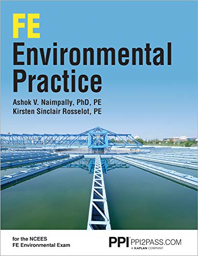 PPI FE Environmental Practice, 1st Edition (Paperback) - Comprehensive Practice for the NCEES FE Environmental Exam