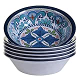 Certified International Talavera All Purpose 7.5'' x 2'' Bowl (Set of 6), Multicolor