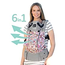 SIX-Position, 360° Ergonomic Baby & Child Carrier by LILLEbaby - The COMPLETE All Seasons (Tokidoki Donutella)