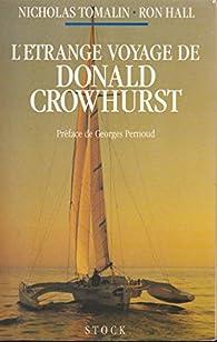 L'étrange voyage de Donald Crowhurst par Nicholas  Tomalin