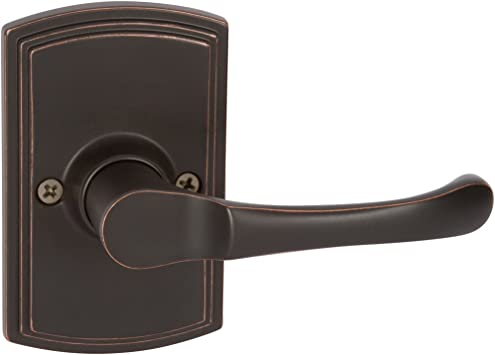 Delaney Hardware 515T-AR-US10BE Artino Dummy Lever Edge Oil Rubbed Bronze