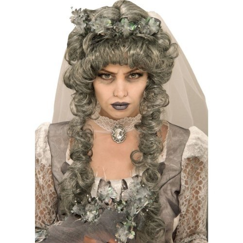 Rubie's Ghost Bride Wig Costume (Zombie Bride Costume Accessories)